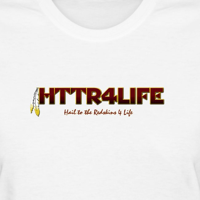 "HTTR4LIFE ""Support The Name"" Redskins Shirt"
