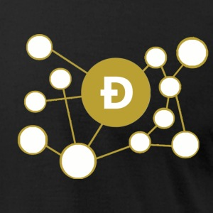 Dogecoin Network Graphic T-Shirts - Men's T-Shirt by American Apparel