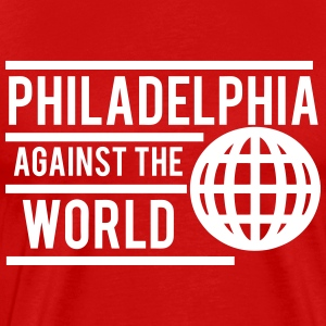 Philly Against The World T-Shirts - Men's Premium T-Shirt