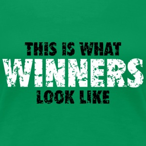 Winner T-Shirt (Green) Women - Women's Premium T-Shirt
