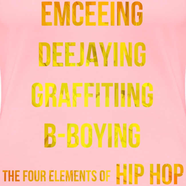 The Four Elements of Hip Hop