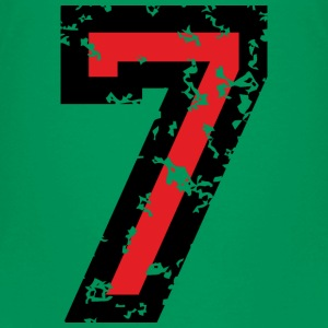 Number Seven T-Shirt No.7 (Kids Green) - Kids' Premium T-Shirt
