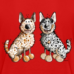 Two Australian Cattle Dogs  Kids' Shirts - Kids' Premium T-Shirt