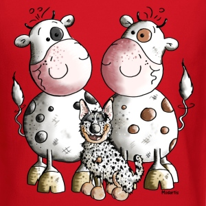 Australian Cattle Dog And Cows Long Sleeve Shirts - Crewneck Sweatshirt