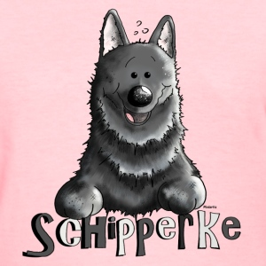 Happy Schipperke - Dog - Dogs Women's T-Shirts - Women's T-Shirt