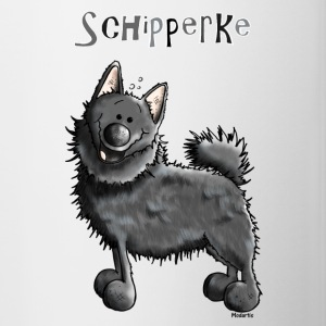 Funny Schipperke - Dog - Spitzke Bottles & Mugs - Contrast Coffee Mug