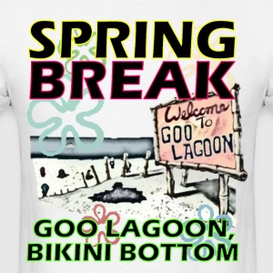 Spongebob Spring Break T-Shirts - Men's T-Shirt