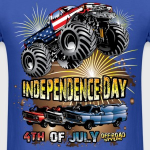 Monster Independence T-Shirts - Men's T-Shirt
