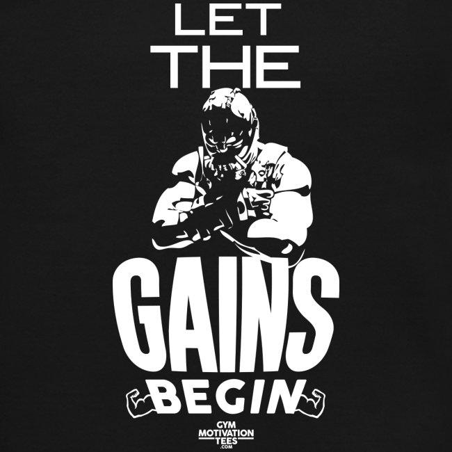 Let the gains begin | Mens Jumper