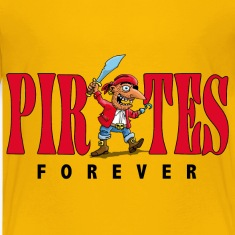 pirates_forever_07201401 Kids' Shirts