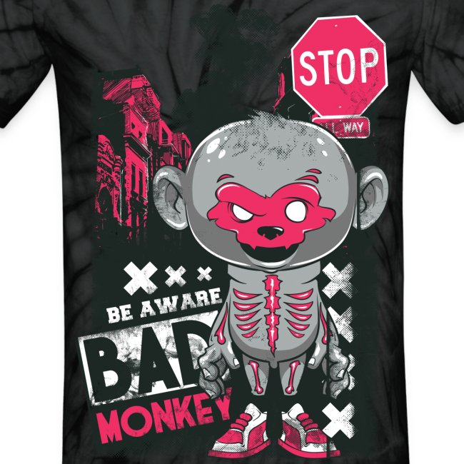 Bad Monkey Tie-Dye T-Shirt