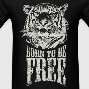 Born To Be Free T-shirt - Men's T-Shirt