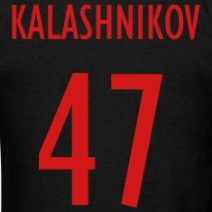 Men's Black Team Kalashnikov Shirt