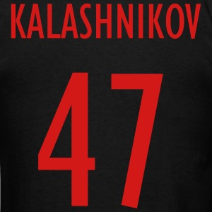 Men's Black Team Kalashnikov Shirt - Men's T-Shirt