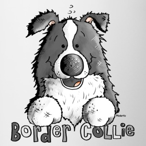 Sweet Border Collie - Dog - Dogs Bottles & Mugs - Contrast Coffee Mug