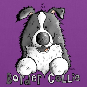 Sweet Border Collie - Dog - Dogs Bags & backpacks - Tote Bag