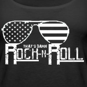 (whiterock)Rocknroll Tanks - Women's Premium Tank Top