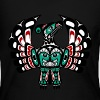 Northwest Pacific coast Haida art Thunderbird Long Sleeve Shirts - Women's Long Sleeve Jersey T-Shirt