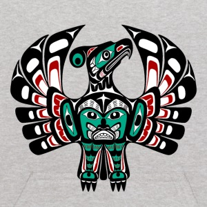 Northwest Pacific coast Haida art Thunderbird Sweatshirts - Kids' Hoodie