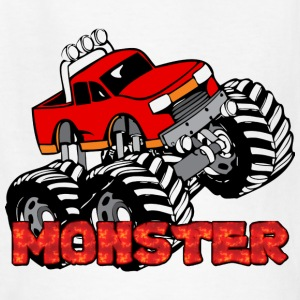 Monster Pickup Truck Kids' Shirts - Kids' T-Shirt