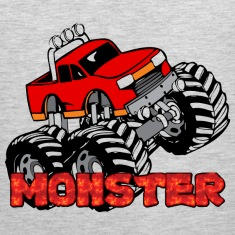 Monster Pickup Truck Men