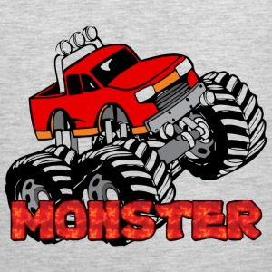 Monster Pickup Truck Men - Men's Premium Tank