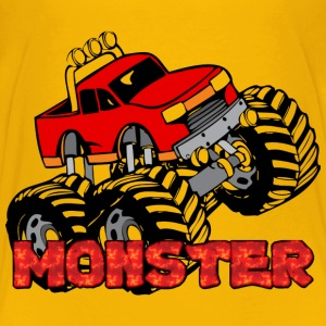 Monster Pickup Truck Baby & Toddler Shirts - Toddler Premium T-Shirt
