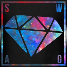 SWAG Diamond Galaxy T-Shirts