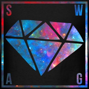 SWAG Diamond Galaxy T-Shirts - Men's T-Shirt