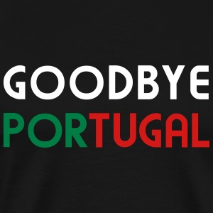 Goodbye Portugal - V3 T-Shirts - Men's Premium T-Shirt