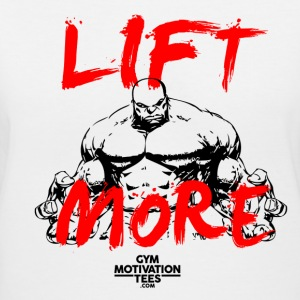 Lift More Women's T-Shirts - Women's V-Neck T-Shirt