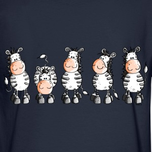 Funny Zebras - Zebra  Long Sleeve Shirts - Men's Long Sleeve T-Shirt