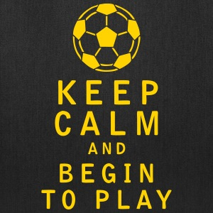 Keep Calm and Begin to Play - Tote Bag