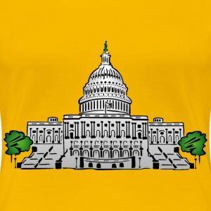 The Capital Building - Women's Premium T-Shirt