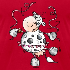 Prima Ballerina Cow - Cows T-Shirts - Men's T-Shirt by American Apparel