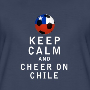 Keep Calm and Cheer On Chile - Women's Premium T-Shirt