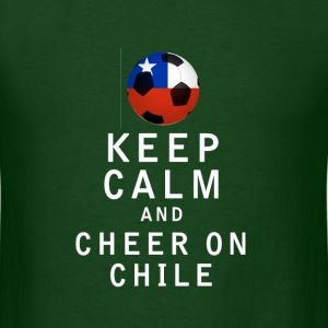 Keep Calm and Cheer On Chile - Men's T-Shirt