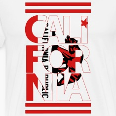 California Flag Bear T-Shirts