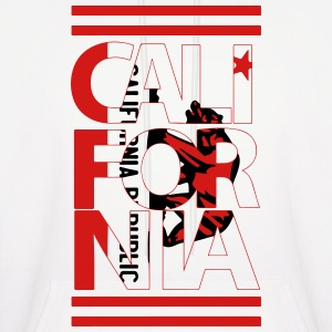 California Flag Bear Hoodies - Men's Hoodie