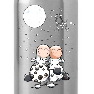 Romantic Cow Star - Cows Bottles & Mugs - Water Bottle
