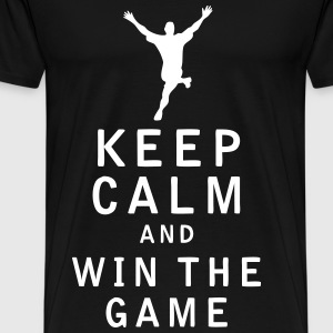 Keep Calm and Win The Game - Men's Premium T-Shirt