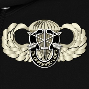 Women's Hooded Sweatshirt - Airborne Badge - SF DU - Women's Hoodie