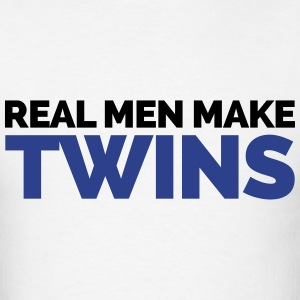 Real Men Make Twins T-Shirts - Men's T-Shirt