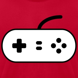 Video Game Control Pad T-Shirts - Men's T-Shirt by American Apparel