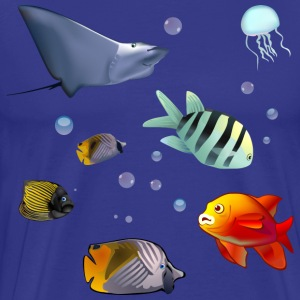 Underwater World - Men's Premium T-Shirt