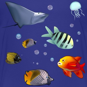Underwater World - Toddler Premium T-Shirt