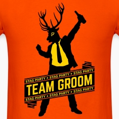 Team Groom / Stag Party (2C) T-Shirts