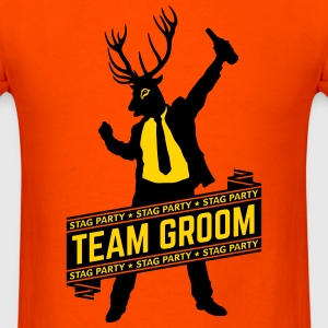 Team Groom / Stag Party (2C) T-Shirts - Men's T-Shirt