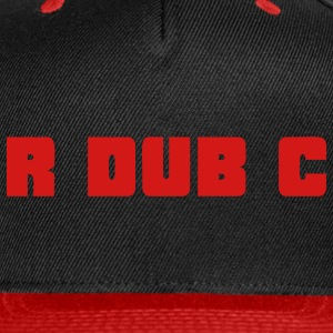 RdubC - Red/Black Cap - Snap-back Baseball Cap