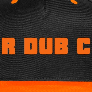 RdubC - Orange/Black Cap - Snap-back Baseball Cap